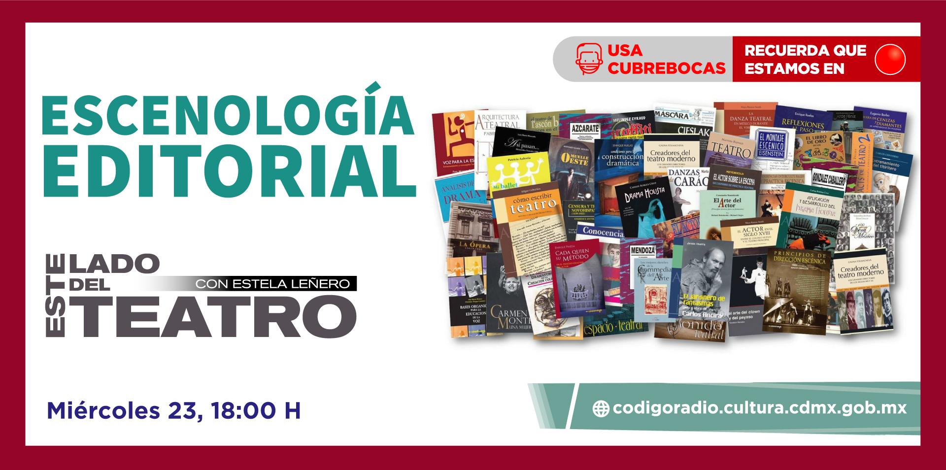 Escenología Editorial